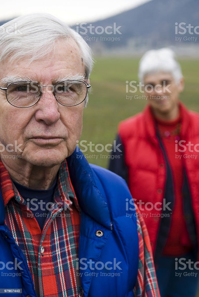 Grandparents royalty-free stock photo