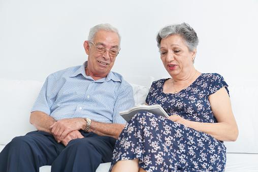Grandparents portraid