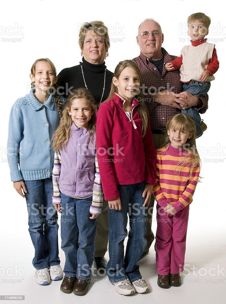 Abuelos retrato - foto de stock