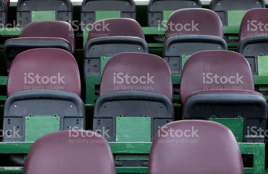Grandstand Detail royalty-free stock photo