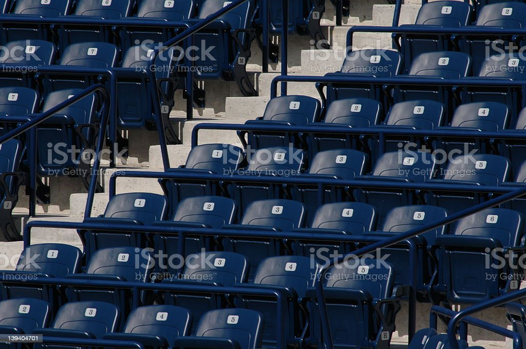grandstand royalty-free stock photo