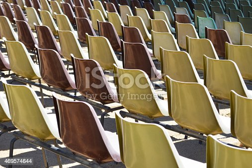 Grandstand Seats Stock Photo & More Pictures of 2015