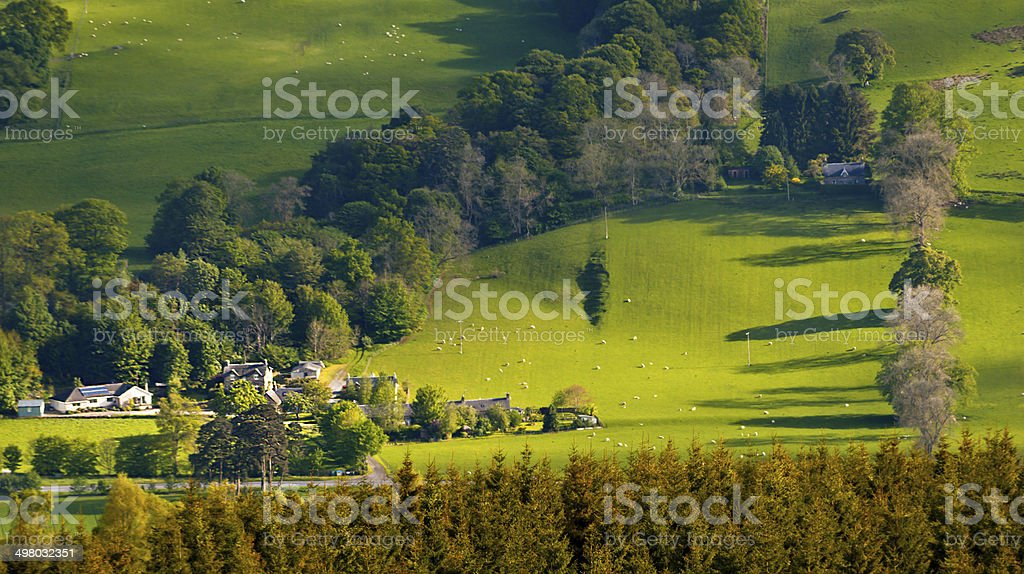 Grandtully, Perthshire stock photo