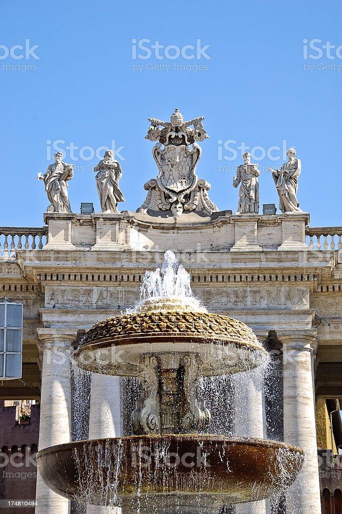 Granite Bernini Brunnen Im Vatikan Stockfoto Und Mehr Bilder Von Alt