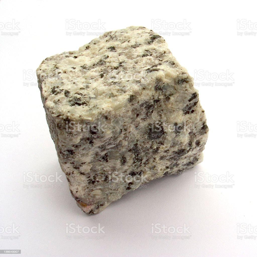 Granite brick royalty-free stock photo