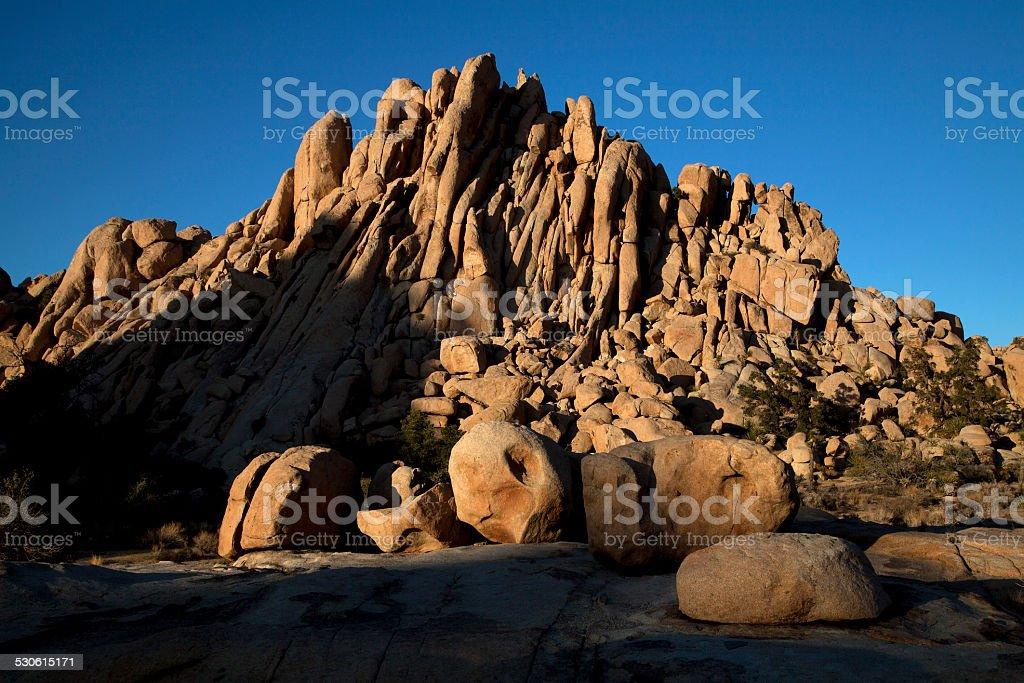 Granite Castle stock photo