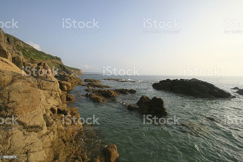 Granite Coast royalty-free stock photo