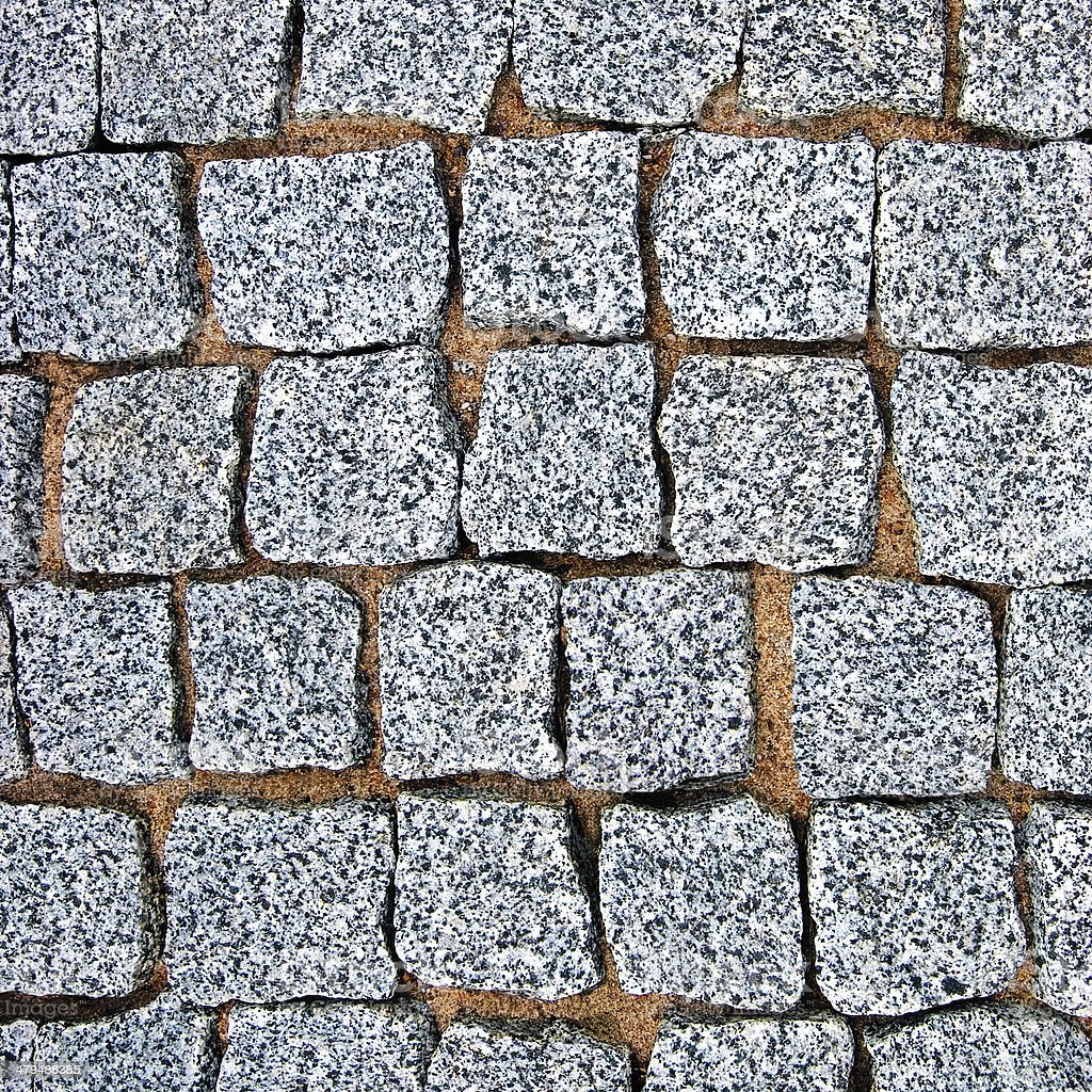 Textura de fondo de pavimento de adoquines de granito - Adoquines de granito ...