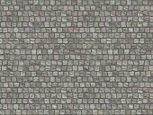 Granite cobblestoned pavement background.