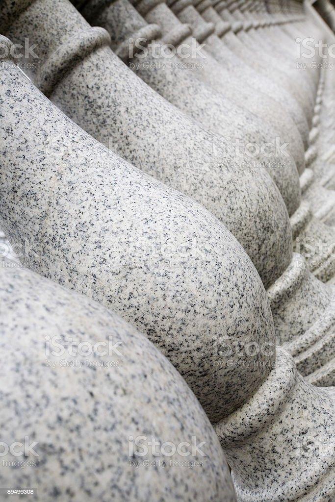 Colonne in granito foto stock royalty-free