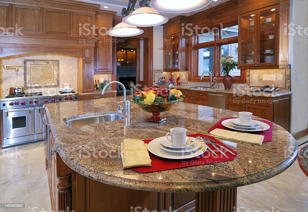 Granite Counter Top royalty-free stock photo