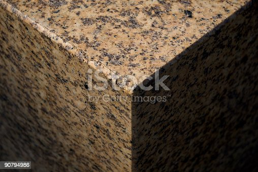 istock granite cube  fragment 90794986