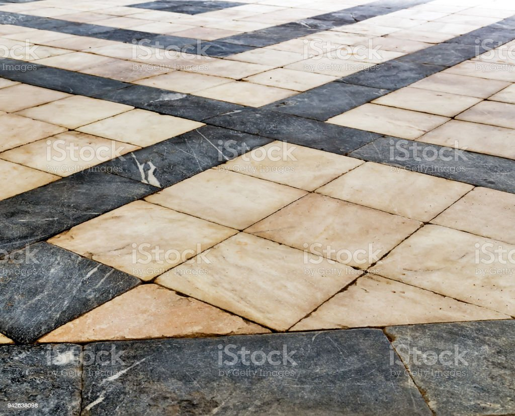 Granite Floor Tile Marble Samples For Texture Background Black And White Checkered Royalty Free