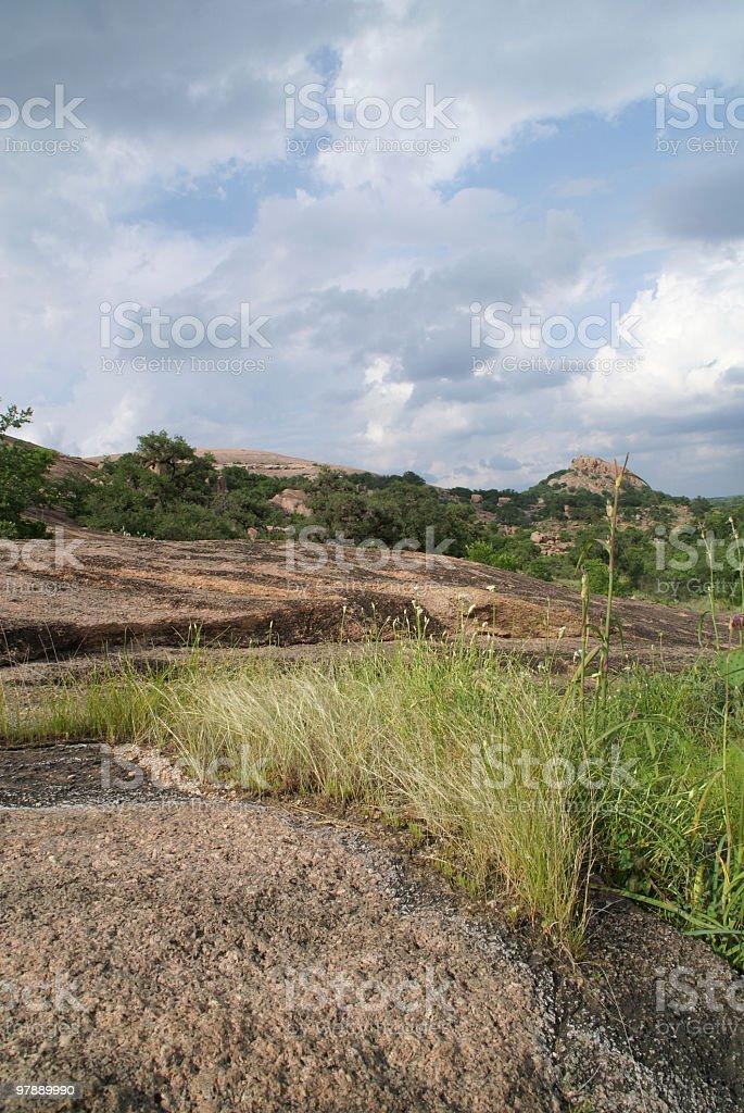 Granite landscape royalty-free stock photo