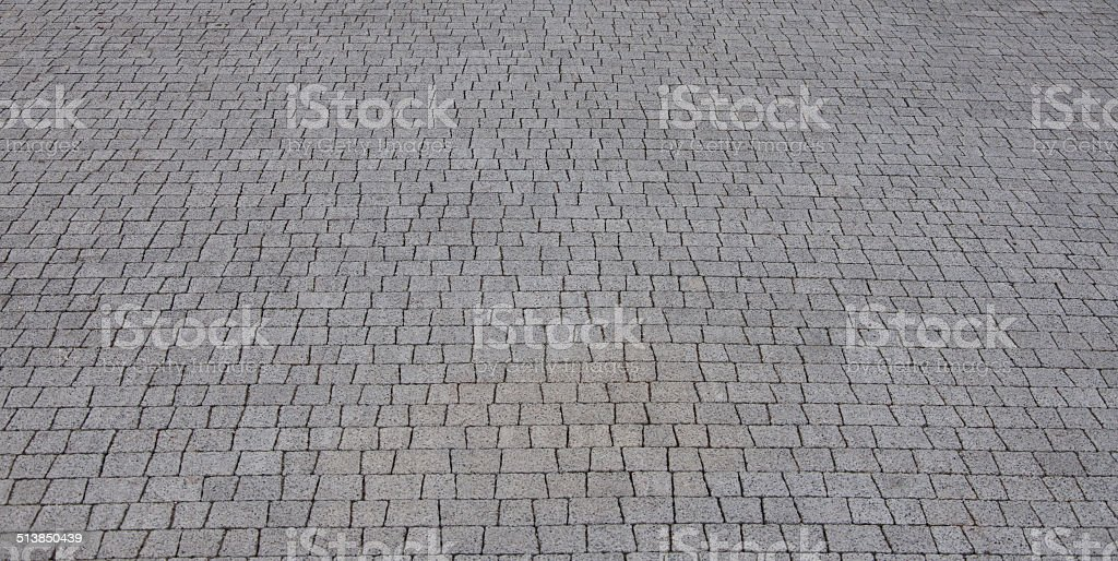 Granite pavement background stock photo