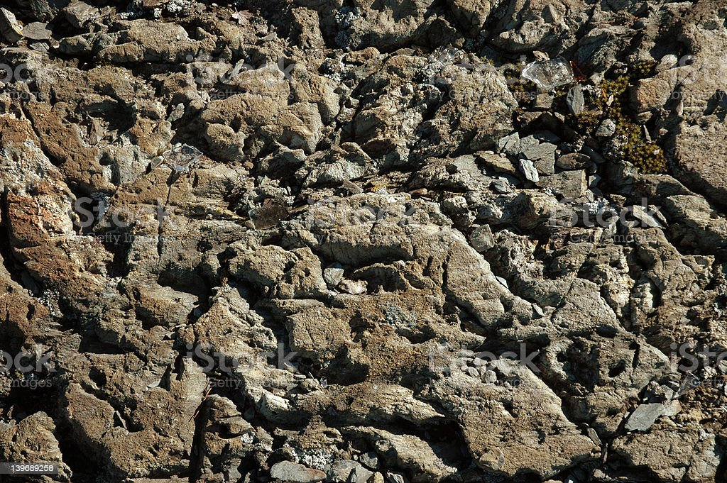 Granite rock texture 2 stock photo