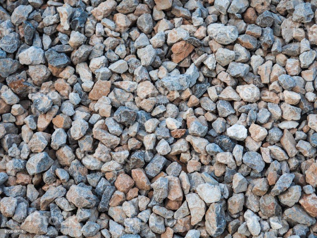 Granite rocks for construction background stock photo