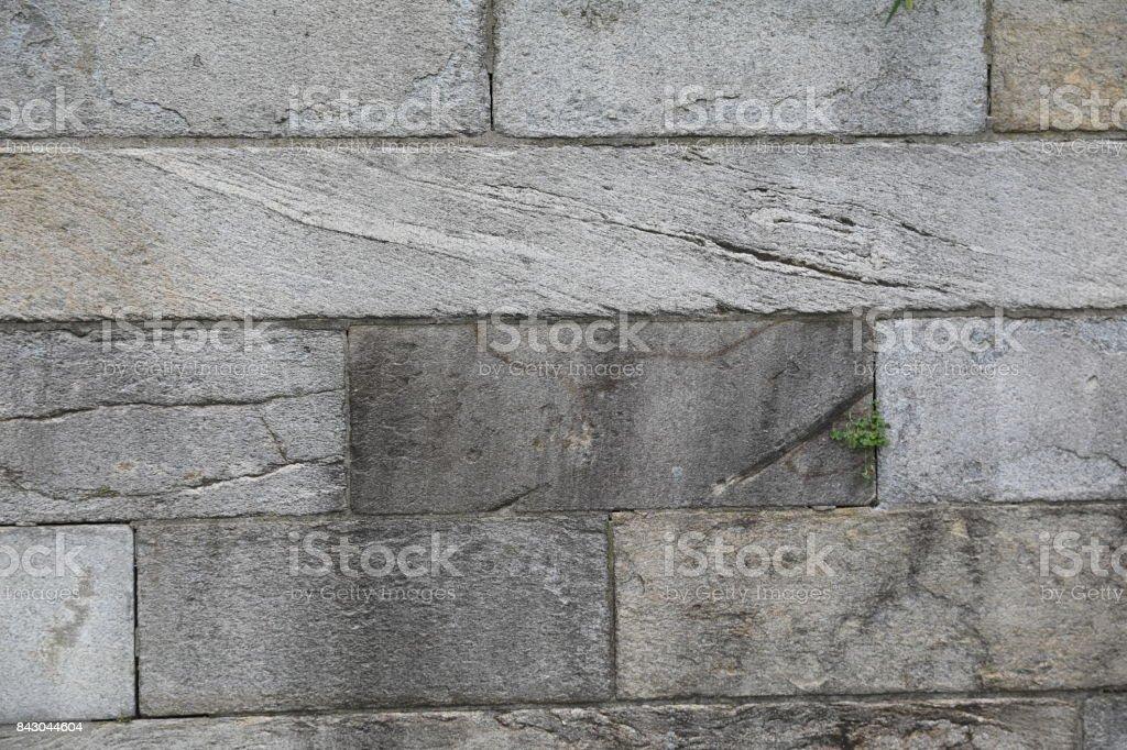 Granite wall pattern stock photo