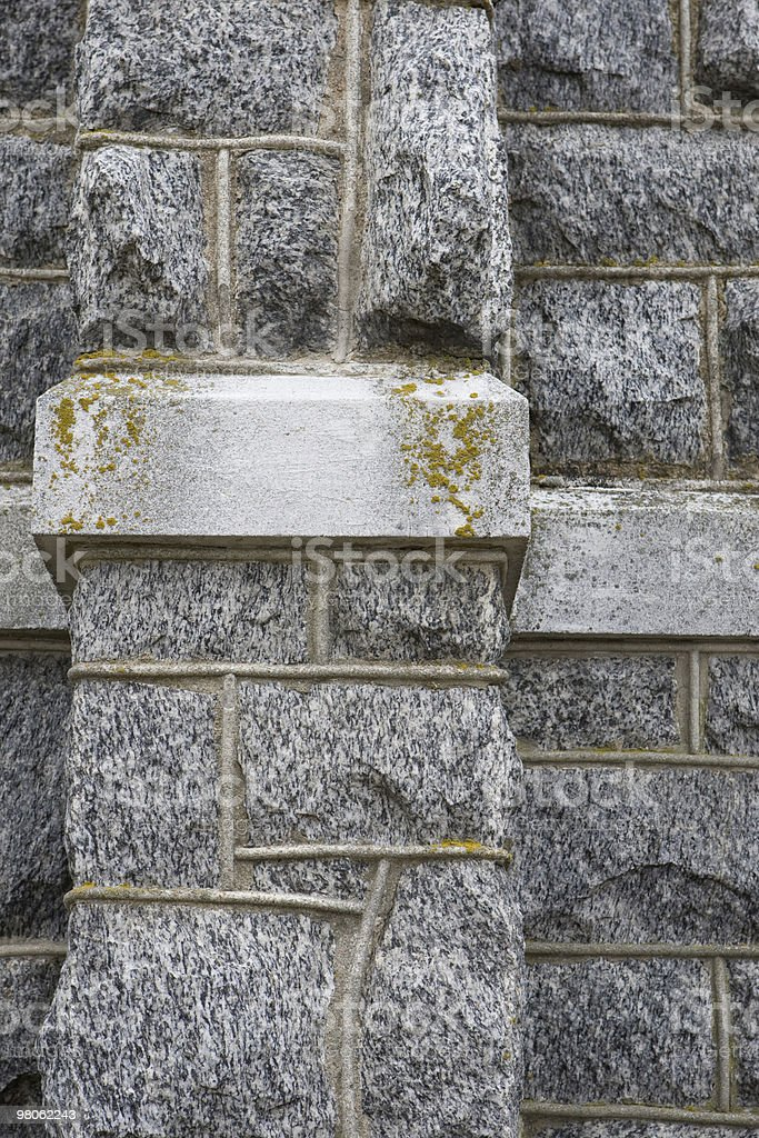 Granite Wall royalty-free stock photo