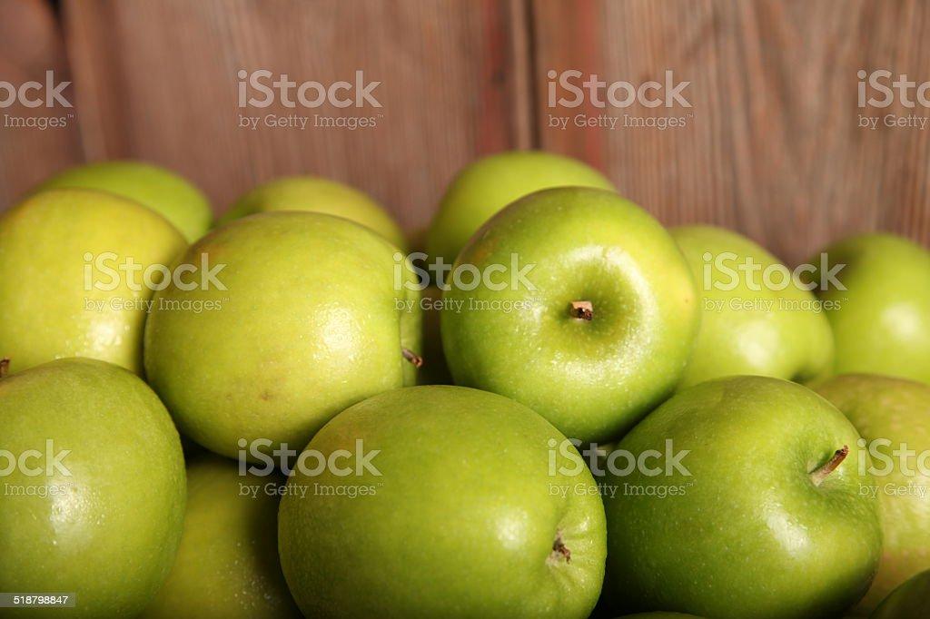 Granny Apples stock photo