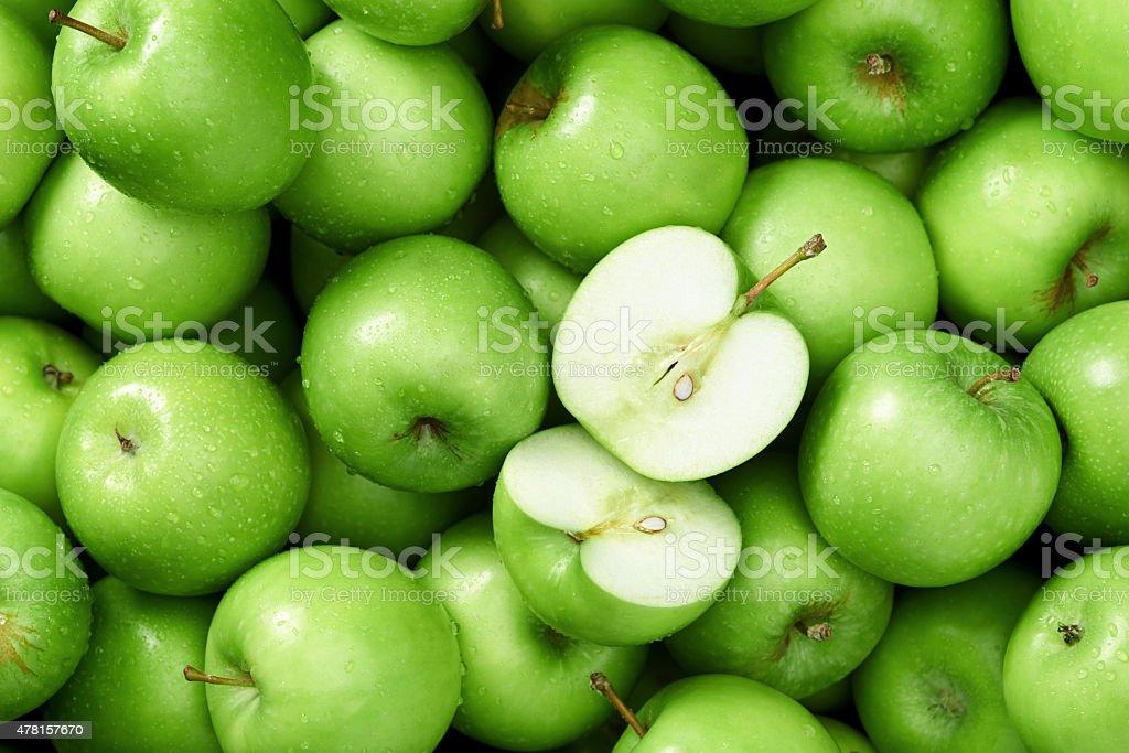 Яблоко гренни смит фоне стоковое фото