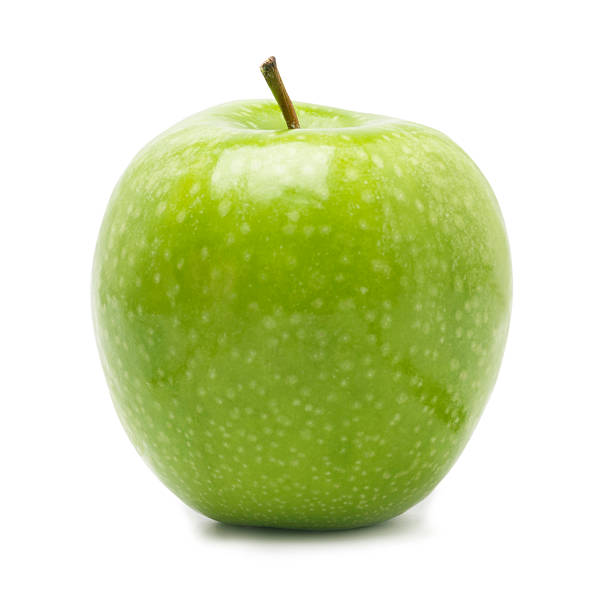Granny Smith Apple Granny Smith Apple -Photographed on Hasselblad H3-22mb Camera granny smith apple stock pictures, royalty-free photos & images