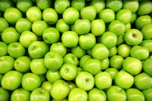 Granny Smith Apples Stock Photo - Download Image Now