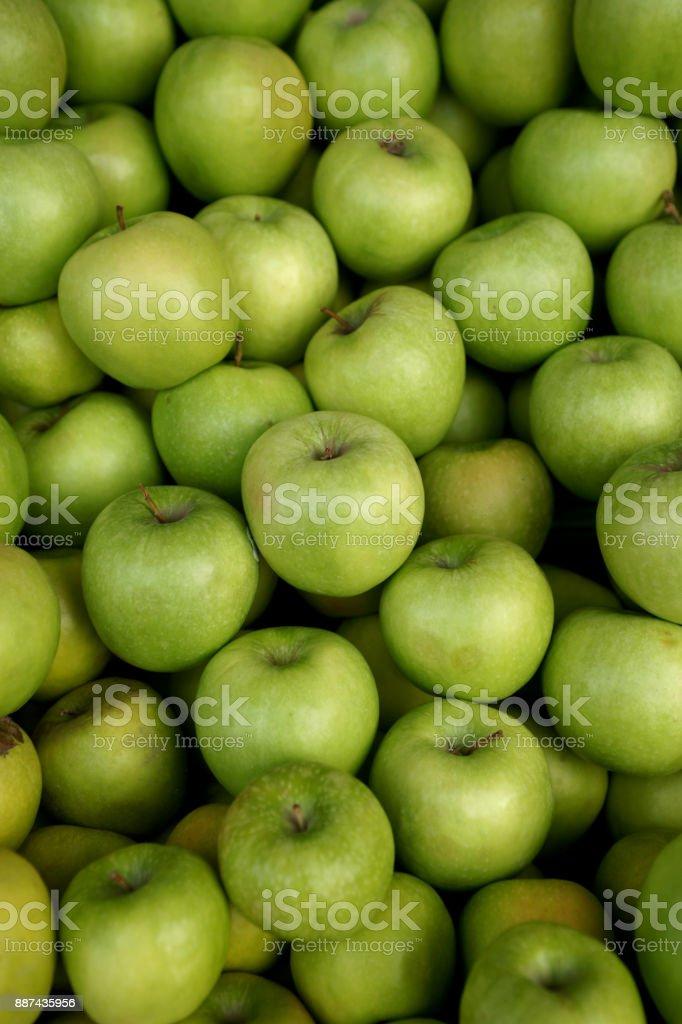 Granny Smith Apples stock photo