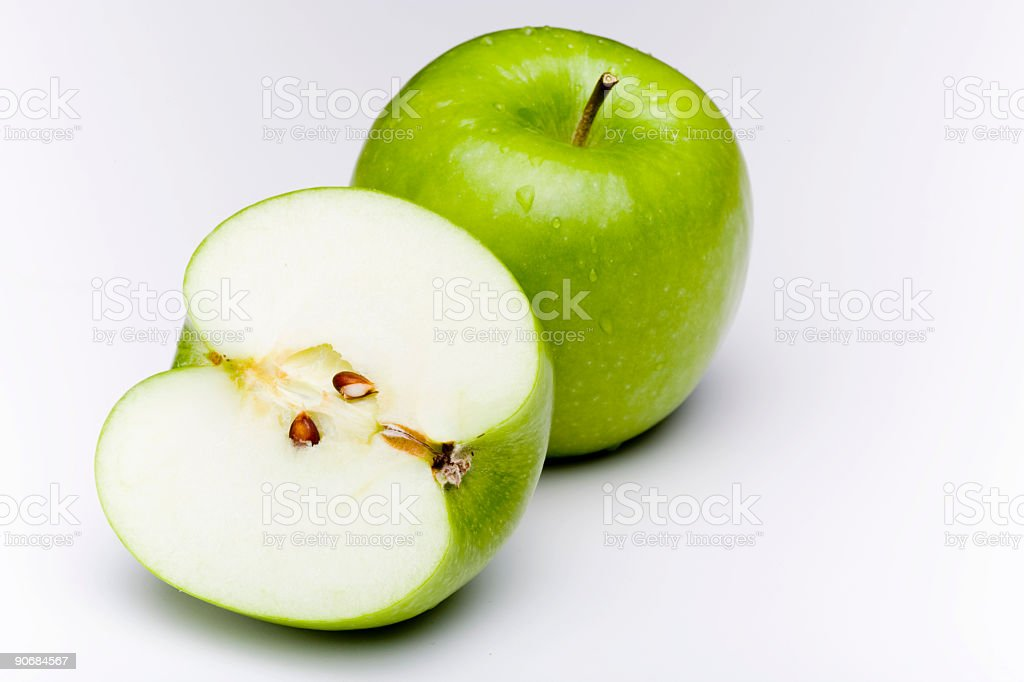 Granny Smith Apples stock photo