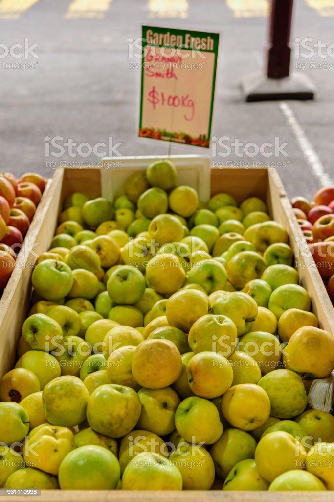 Granny Smith elma - Royalty-free Alışveriş Stok görsel