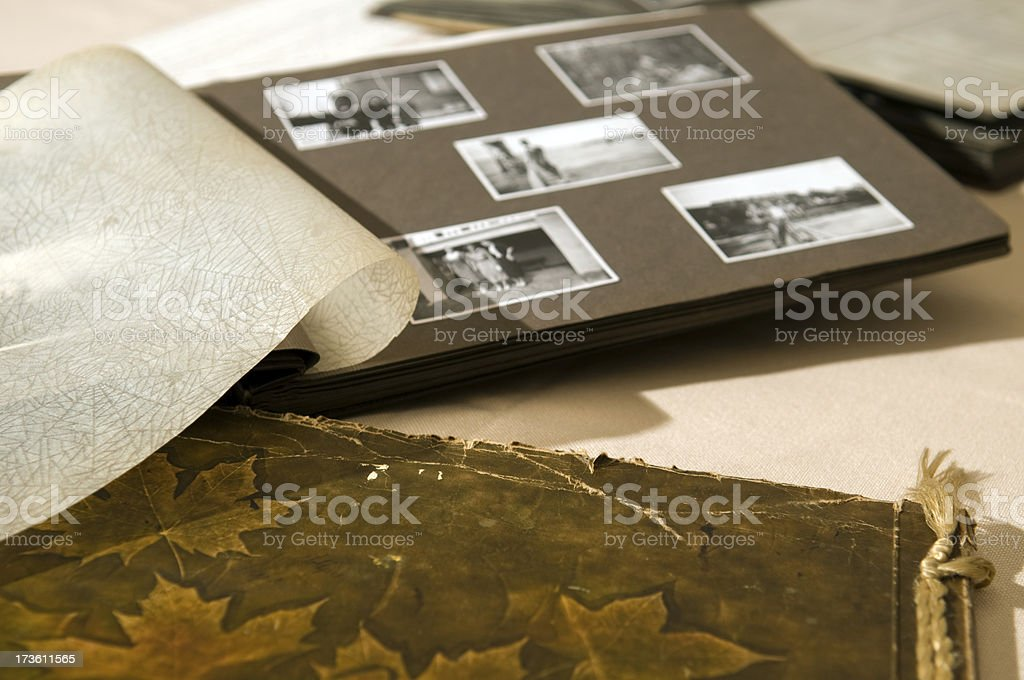 Grannys photos. stock photo