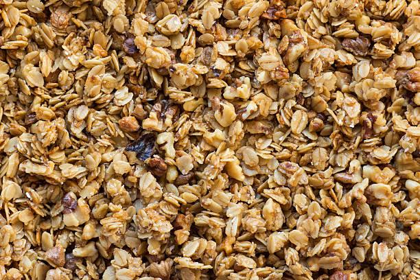 muesli fundo - granola imagens e fotografias de stock