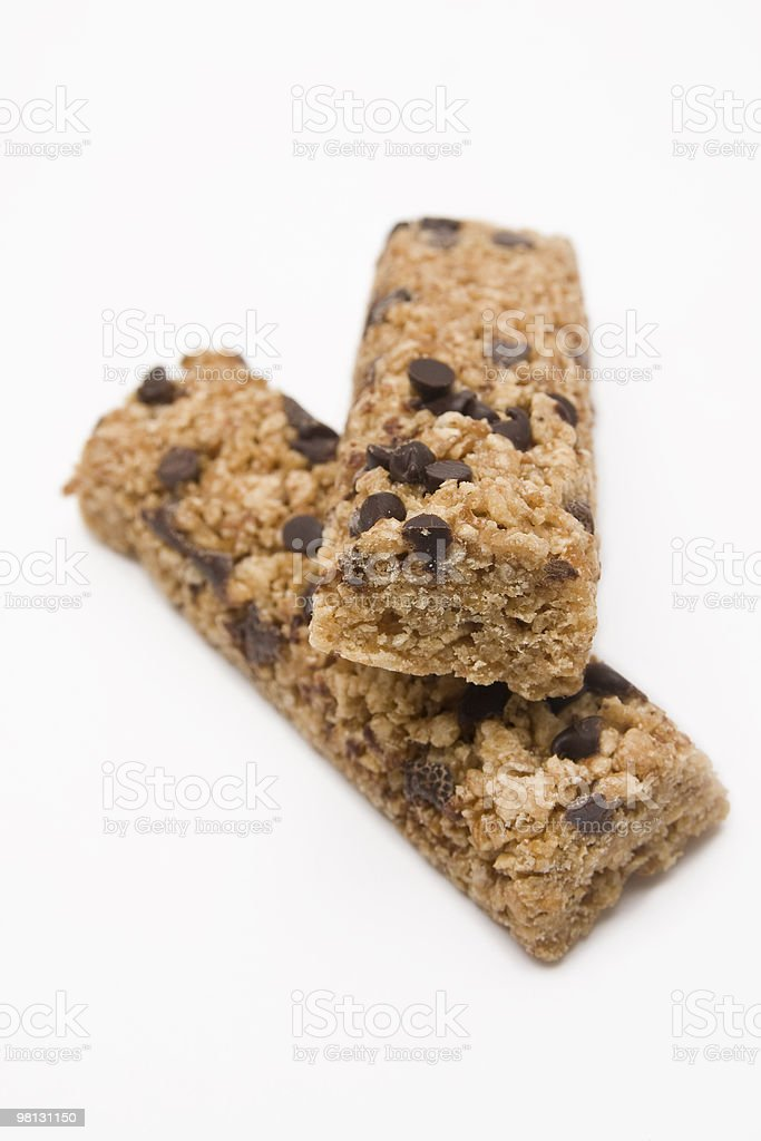 Granola Bar Composition royalty-free stock photo
