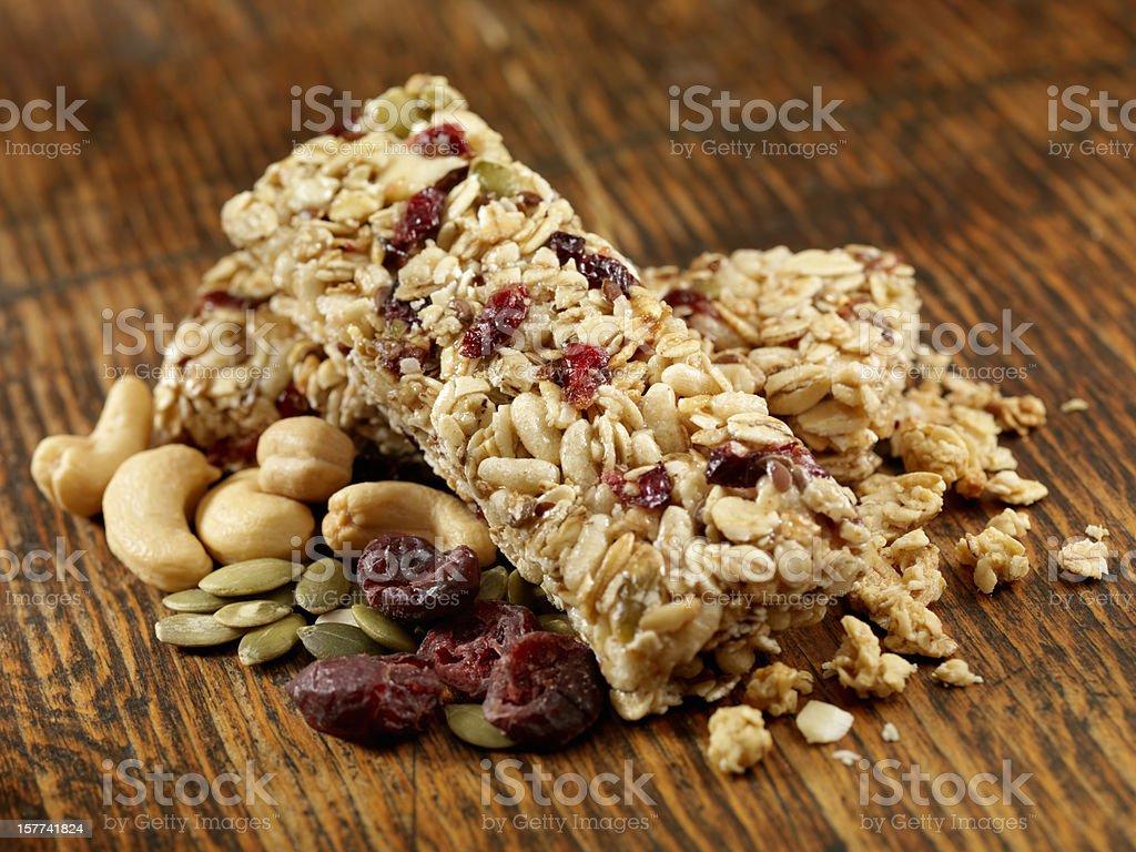 Barras de cereal - foto de acervo