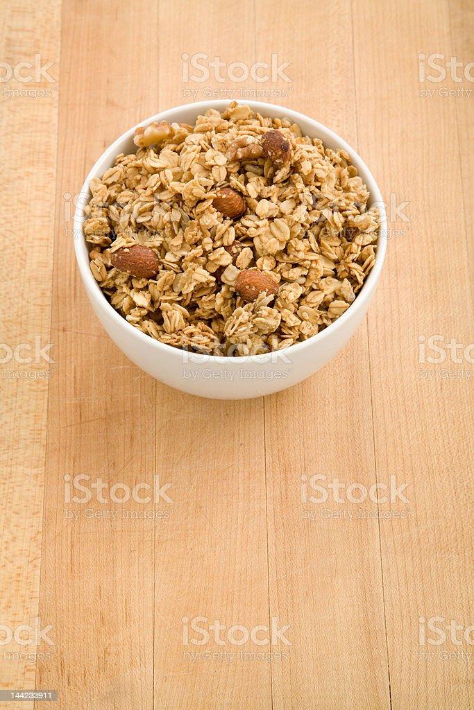 Granola Bowl royalty-free stock photo