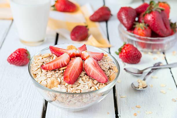 Müsli zum Frühstück – Foto