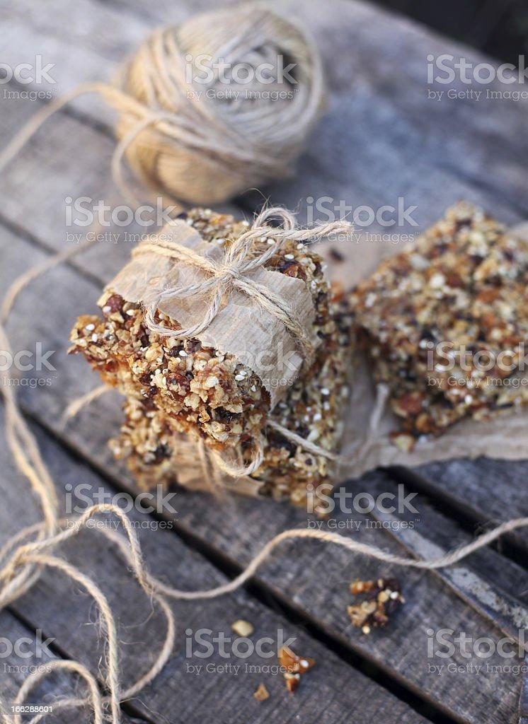 Granola royalty-free stock photo
