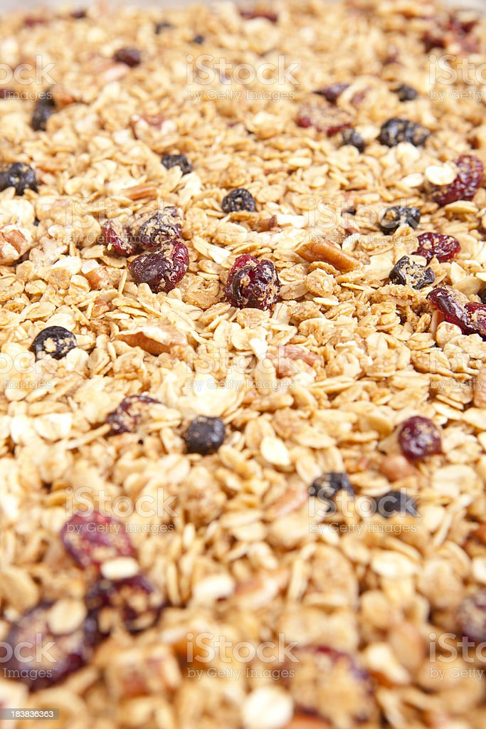 Granola royalty-free stock photo