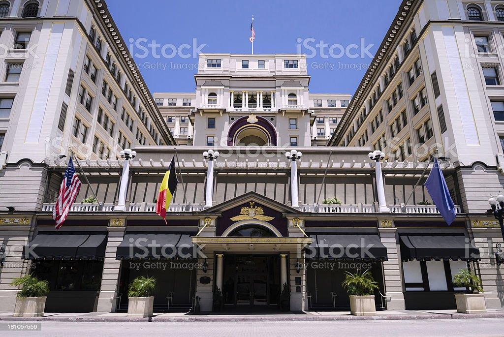 U.S. Grant Hotel in San Diego, CA royalty-free stock photo