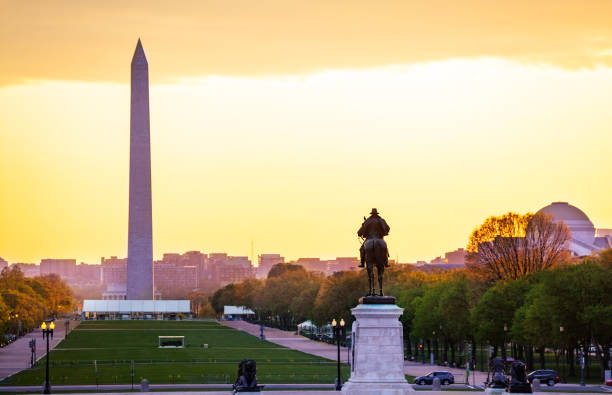 Grant Memorial statue, George Washington Monument – Foto