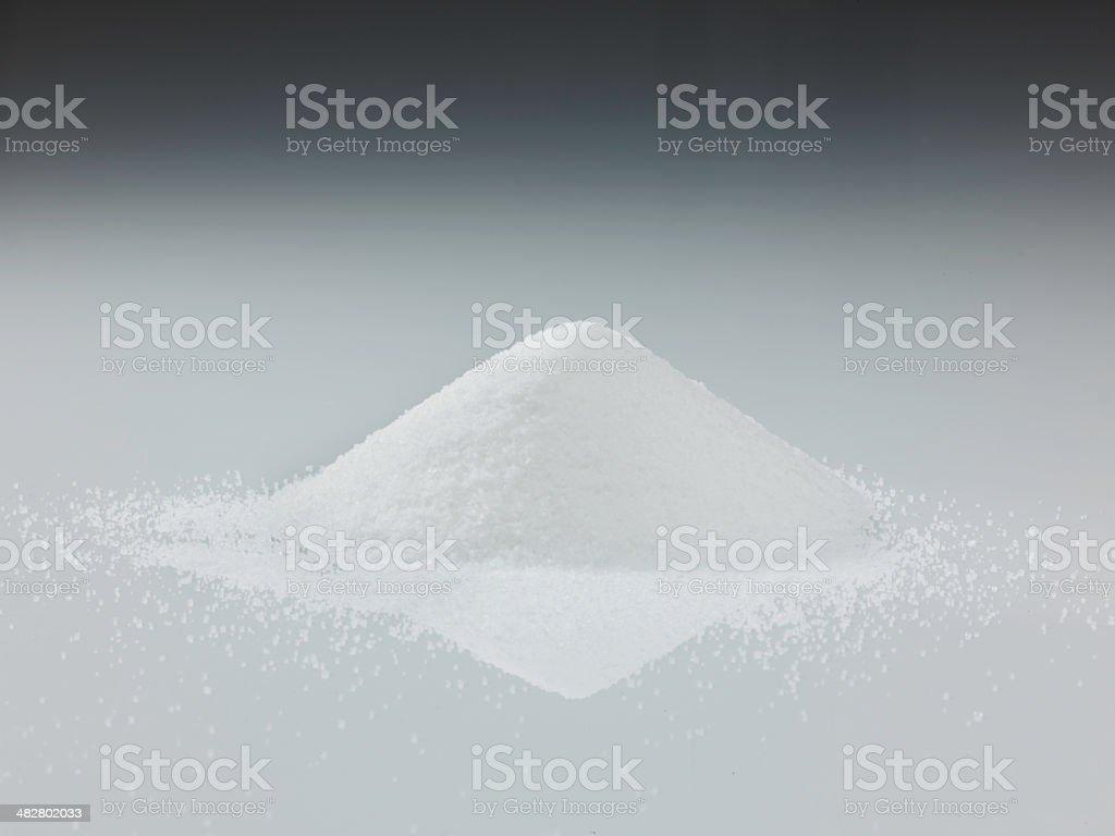 granulated sugar stock photo