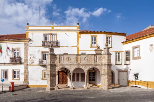 grao-prior veranda in crato, alto alentejo, portugal. - portalegre imagens e fotografias de stock