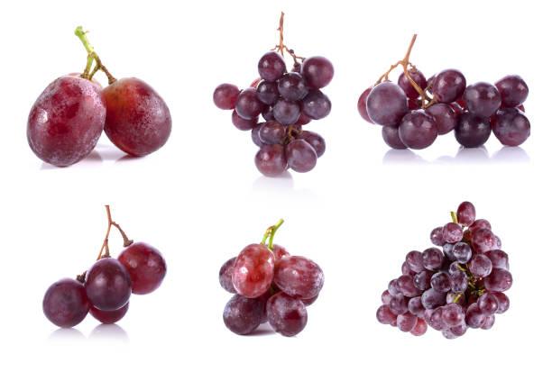 grape berry close up background stock photo