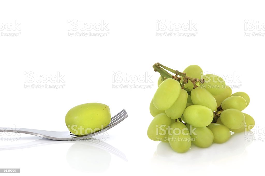 Grape Diet royalty-free stock photo