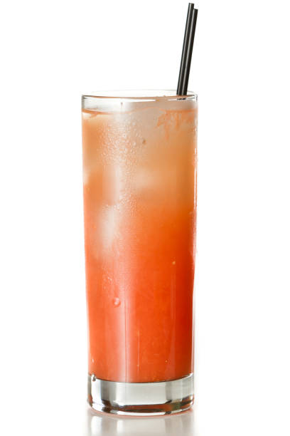 grape fruit juice and vodka - gray hound - grapefruit cocktail stock photos and pictures