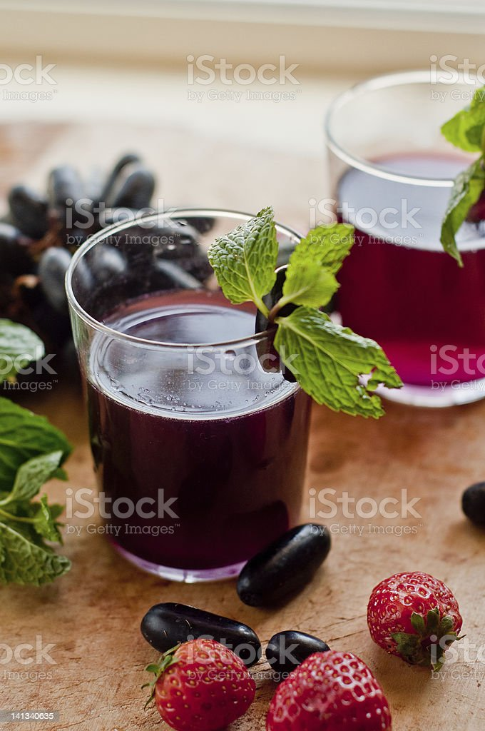 Grape Juice royalty-free stock photo