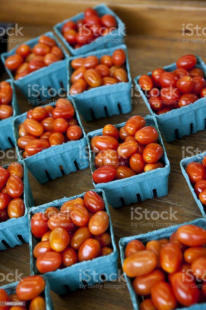 Grape Tomatos royalty-free stock photo