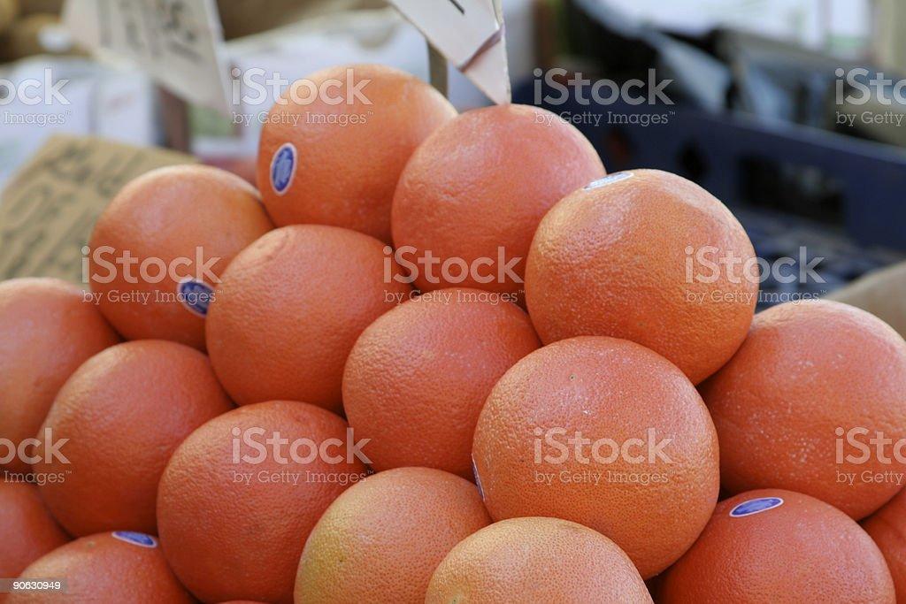 Grapefruit For Sale stock photo