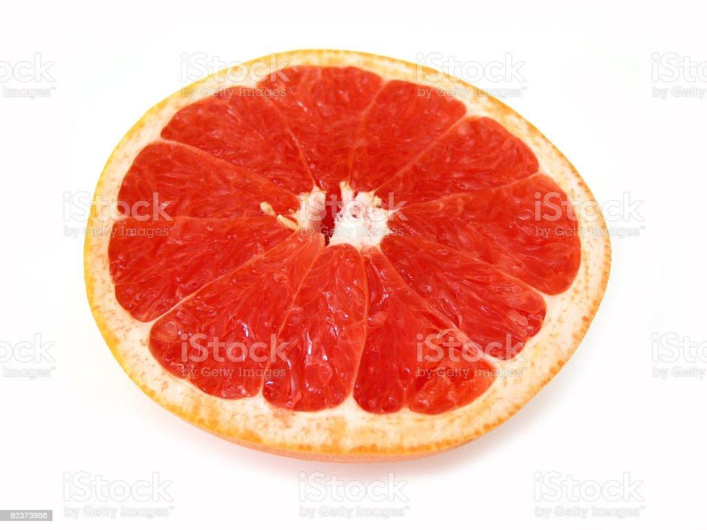 Grapefruit half royalty-free stock photo