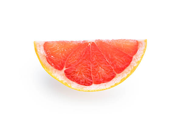 Grapefruit isolated on white background stock photo